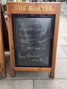blackboard joke
